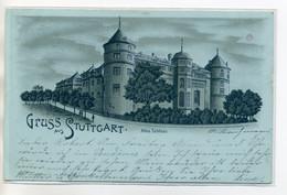 ALLEMAGNE Gruss Aus STUTTGART Altes Schloss Chateau 1899 écrite Timbrée  D11 2018 - Stuttgart