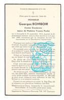 DP Im. Mort. - Gendarme Rijkswacht Georges Bomboir 36j. ° Givroulle Flamierge Bertogne 1912 † 1949 X Yv. Peché - Andachtsbilder
