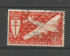 Timbre De Colonie Française Inde Oblitéré  P-a N 1 - Usati