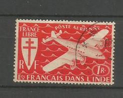 Timbre De Colonie Française Inde Oblitéré  P-a N 2 - Usati