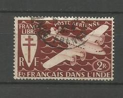 Timbre De Colonie Française Inde Oblitéré  P-a N 3 - Usati