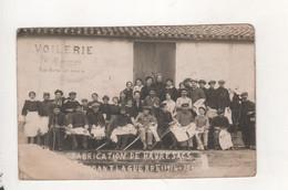 Les Sables D Olonne Fabrication De Havre Sacs Pendant La Guerre 1914 15 Carte Photo - Sables D'Olonne