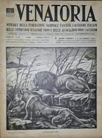 Caccia Rivista - Venatoria N. 22 - Cacciatori... - 1937 - Boeken, Tijdschriften, Stripverhalen