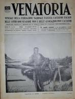 Caccia Rivista - Venatoria N. 20 - Caccia A Mare - Stipato Carniere - 1937 - Boeken, Tijdschriften, Stripverhalen