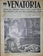 Caccia Rivista - Venatoria N. 13 - Figlio Di Cacciatore - 1937 - Boeken, Tijdschriften, Stripverhalen