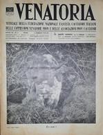 Caccia Rivista - Venatoria N. 5 - 1937 - Boeken, Tijdschriften, Stripverhalen
