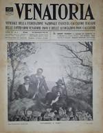 Caccia Rivista - Venatoria N. 4 - Vittoriosi E Vinti - 1937 - Boeken, Tijdschriften, Stripverhalen