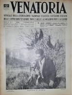 Caccia Rivista - Venatoria N. 1 - Aureola Di Gloria - 1937 - Boeken, Tijdschriften, Stripverhalen