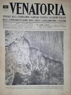 Caccia Rivista - Venatoria N. 40 - Concetto Di Razza - 1936 - Boeken, Tijdschriften, Stripverhalen