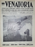Caccia Rivista - Venatoria N. 39 - L'amica Fonte - 1936 - Boeken, Tijdschriften, Stripverhalen