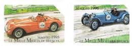 TELECOM ITALIA - OMAGGIO PRIVATE - CAT. C.&C. 3360.3361 - MILLE MIGLIA 1955.1956 - USATE - RIF. CP - Private - Tribute