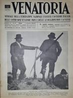 Caccia Rivista - Venatoria N. 31 - Figure Che Scompaiono - 1936 - Boeken, Tijdschriften, Stripverhalen