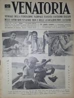 Caccia Rivista - Venatoria N. 29 - La Fauna Dell'A. O. I. - 1936 - Boeken, Tijdschriften, Stripverhalen