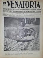 Caccia Rivista - Venatoria N. 27 - Infanzia Di Nocivi - 1936 - Boeken, Tijdschriften, Stripverhalen