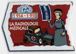 RADIOLOGIE MEDICALE - GUERRE 1914 1918 - VOITURE AMBULANCE - Andere