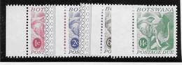 Botswana Taxe N°18/21 - Eléphants - Neuf ** Sans Charnière - TB - Botswana (1966-...)