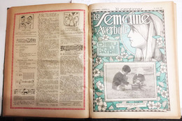 La Semaine D'averbode   Reliure 1927 - 1900 - 1949