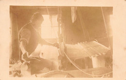 MAN WORKING WITH WOOD & FABRIC AUSTRIA~1925 PHOTO POSTCARD 49570 - Unclassified