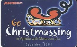 MALTA - CHRISTMAS 2001 - 10.000EX - Malta