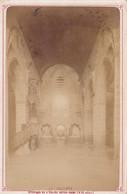 29 - LE FOLGOET - Intérieur De L'église De Notre Dame. Photo Format Cabinet 1883 - Places