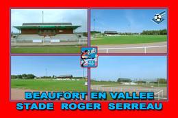 Beaufort En Vallée (49 - France) Stade Roger Serreau - Stadiums
