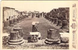 PHOTO/FOTO CDV -POMPEI (Napoli)  Basilica  - Ediz. G. SOMMER No.5334 - Places