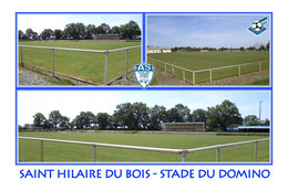Saint Hilaire Du Bois (49 - France) Stade Du Domino - Stadiums