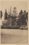 Peumerit-Quintin 22 - Eglise - Automobile - 1950 - Editeur J. Gouriou - Oblitération Lanrivain - RARE - Unclassified