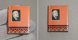 Collectible Book Miniature Minuscule 4-3.5 Cm. Lenin In Turkmen Poetry Engravings Artist Kogdin Ashgabat 1974 RARE - Boeken, Tijdschriften, Stripverhalen