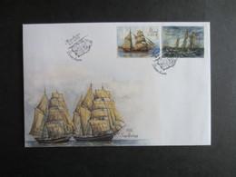 Aland FDC 2015 - Segelfartyg - Aland