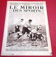 Miroir Des Sports N°242 Janvier 1925 Rugby 5 Nations France Ecosse,All Blacks, Cette Sète Ville Sainte Du Football - Sport