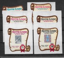 Sierra Leone N°340/345 - Neufs ** Sans Charnière - TB - Sierra Leone (1961-...)