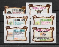 Sierra Leone PA N°73/78 - Neufs ** Sans Charnière - TB - Sierra Leone (1961-...)