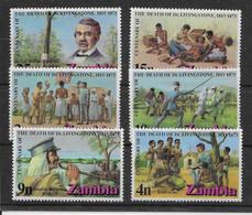 Zambie N°98/103 - Neufs ** Sans Charnière - TB - Zambie (1965-...)