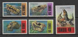 Zambie N°93/97 - Neufs ** Sans Charnière - TB - Zambie (1965-...)