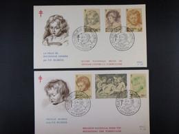 """BELG.1963 1272-1277 FDC (Brux/Brus) : """" RUBENS """" - 1961-70"""
