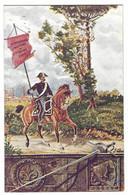 7490 - CARABINIERI DIVISA DIVISIONE MILITARE DI FIRENZE DISEGNATA 1920 CIRCA - Régiments