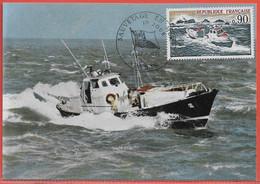 POLICE GENDARMERIE FRANCE CARTE MAXIMUM DE 1974 - Police - Gendarmerie