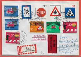 POLICE GENDARMERIE ALLEMAGNE LETTRE DE 1971 DE EDENKOBEN - Politie En Rijkswacht