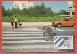POLICE GENDARMERIE PORTUGAL CARTE MAXIMUM DE 1978 - Politie En Rijkswacht