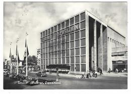 7507 - TORINO PALAZZO ESPOSIZIONI ANIMATA 1957 - Exhibitions