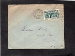 LSC 1939 - Cachet  VERSAILLES - YT 444 Seul Sur Lettre - Postmark Collection (Covers)