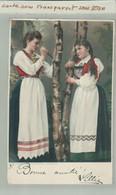 NORVEGE John Fredriksons Kunstforlag Christiania  Femmes Costumes  1901 (2020 OCTOBRE 109) - Norway