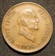 AFRIQUE DU SUD - 2 CENTS 1976 - Jacobus J. Fouché - KM 92 - ( South Africa ) - Sud Africa