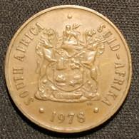 AFRIQUE DU SUD - 2 CENTS 1978 - SOUTH AFRICA - SUID AFRIKA - KM 83 - ( South Africa ) - Sud Africa