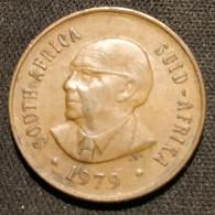 AFRIQUE DU SUD - 2 CENTS 1979 - Nicolaas J. Diederichs - KM 99 - ( South Africa ) - Sud Africa