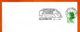 59 VALENCIENNES  SAUVONS LE BLAIREAU  1988 Lettre Entière N° VW 139 - Mechanical Postmarks (Advertisement)