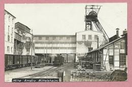 68 - WITTELSHEIM - Carte Photo - Potasse D' Alsace - Mine Amélie - Voie Férrée - Wagons - Embranchement Particulier - Non Classés