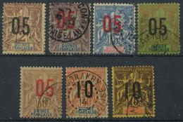 Guinée (1912) N 48 à 54 (o) - Non Classés