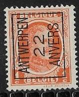 Antwerpen 1922 Typo Nr. 66A - Sobreimpresos 1922-31 (Houyoux)